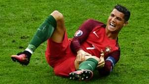 Cristiano Ronaldo Portugal Francia Eurocopa 2016