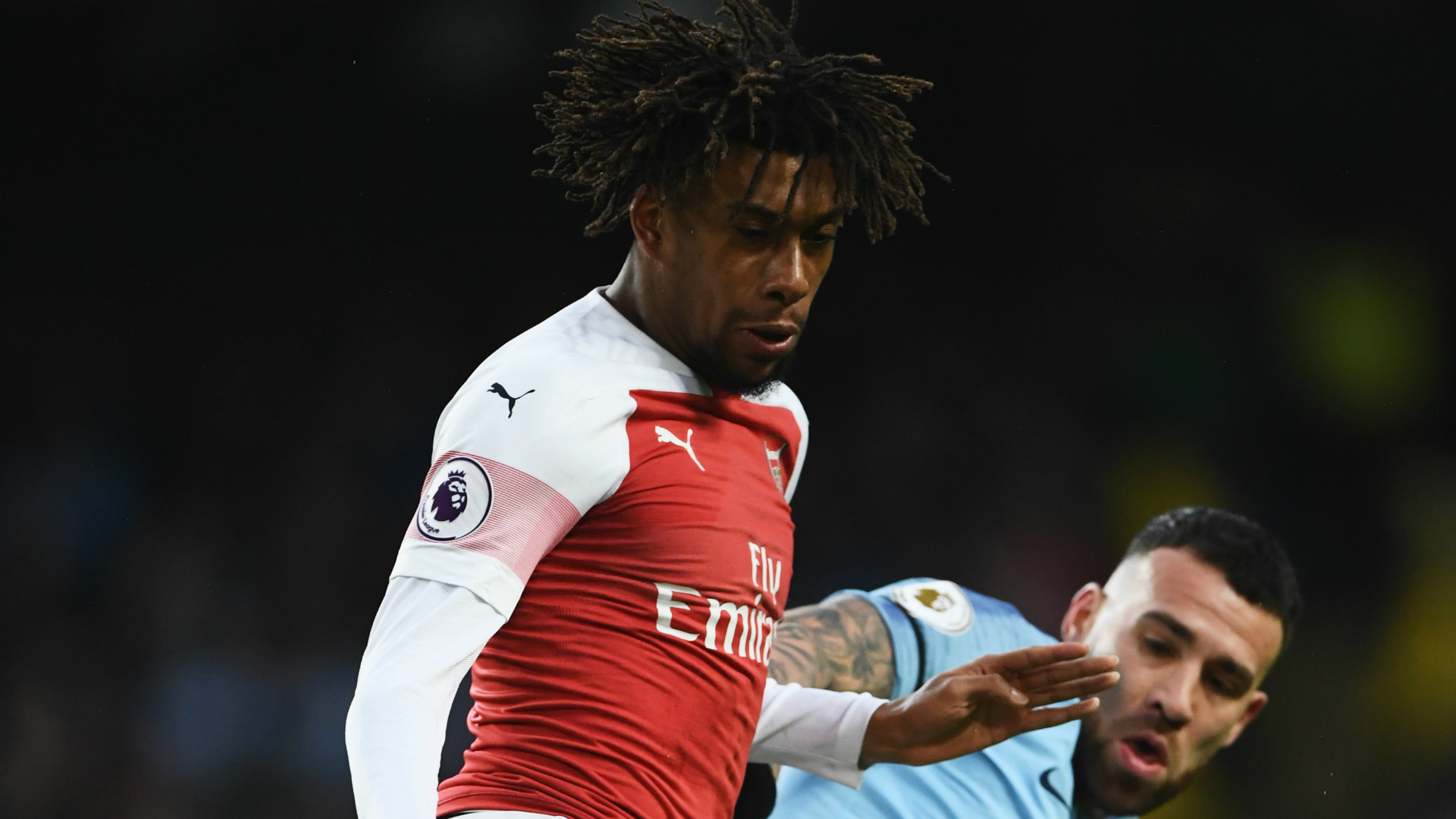 Alex  Iwobi - Manchester City vs. Arsenal
