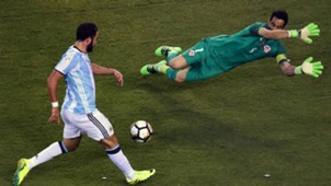 Gonzalo Higuain Argentina Chile Copa America Centenario 2016