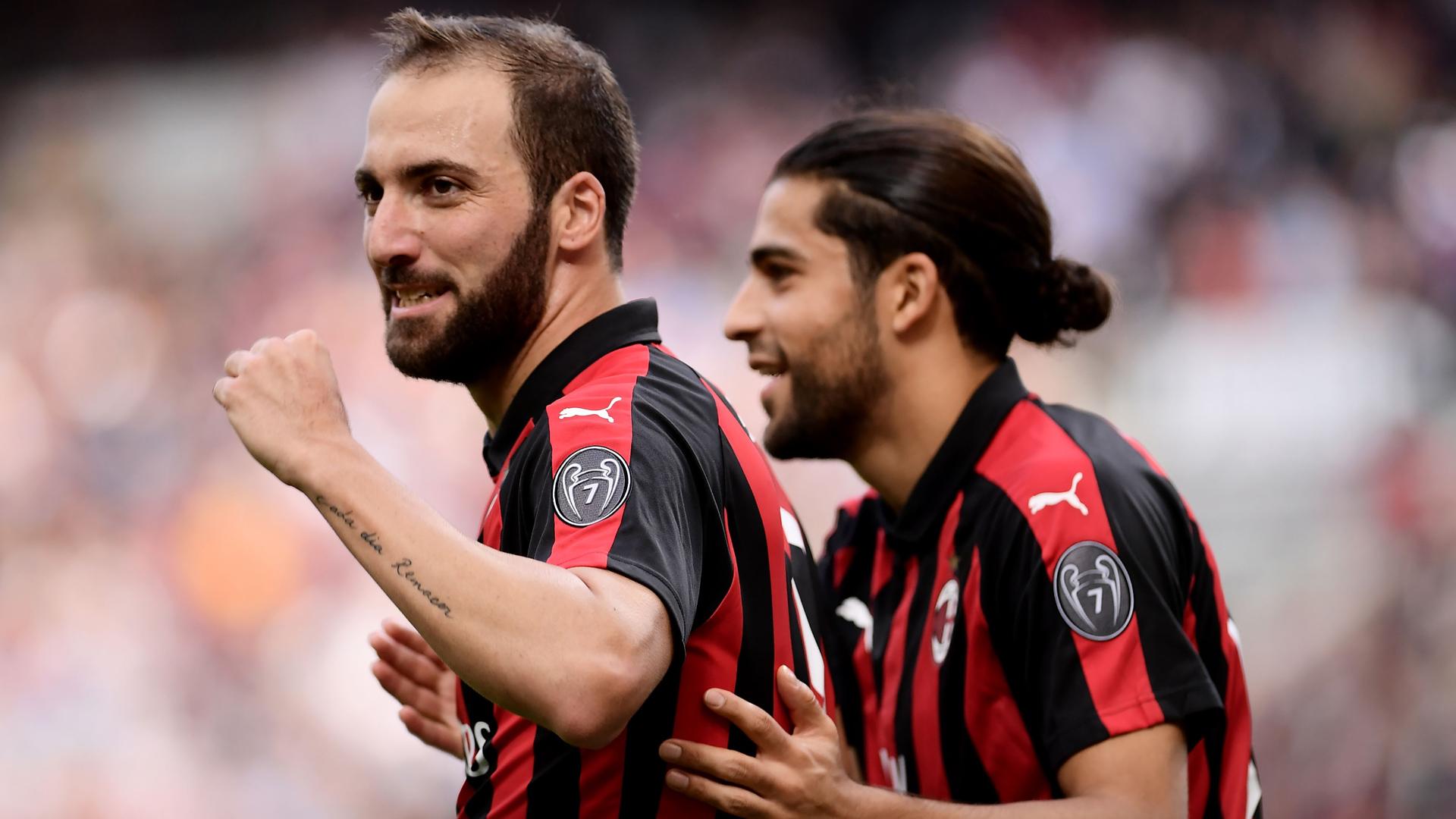 AC Mailand Milan Higuain 07102018