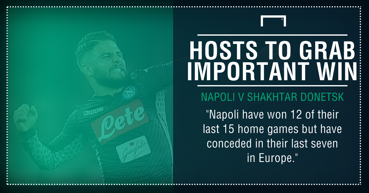 Napoli Shakhtar graphic