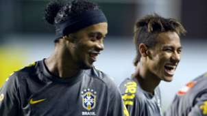 RONALDINHO NEYMAR BRAZIL