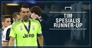 Juventus, Belanda & Spesialis Runner-Up