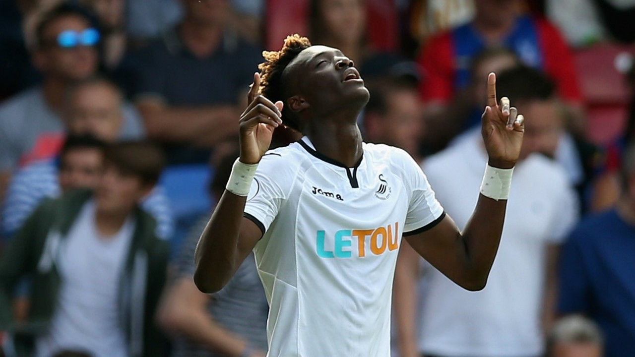 Tammy Abraham Swansea City 26082017