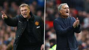 David Moyes, Jose Mourinho, Manchester United