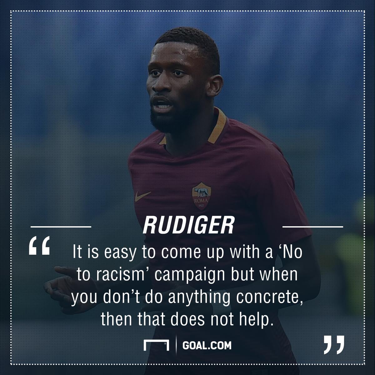 Antonio Rudiger racism PS