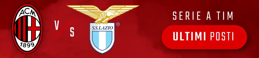 Banner Milan-Lazio Serie A