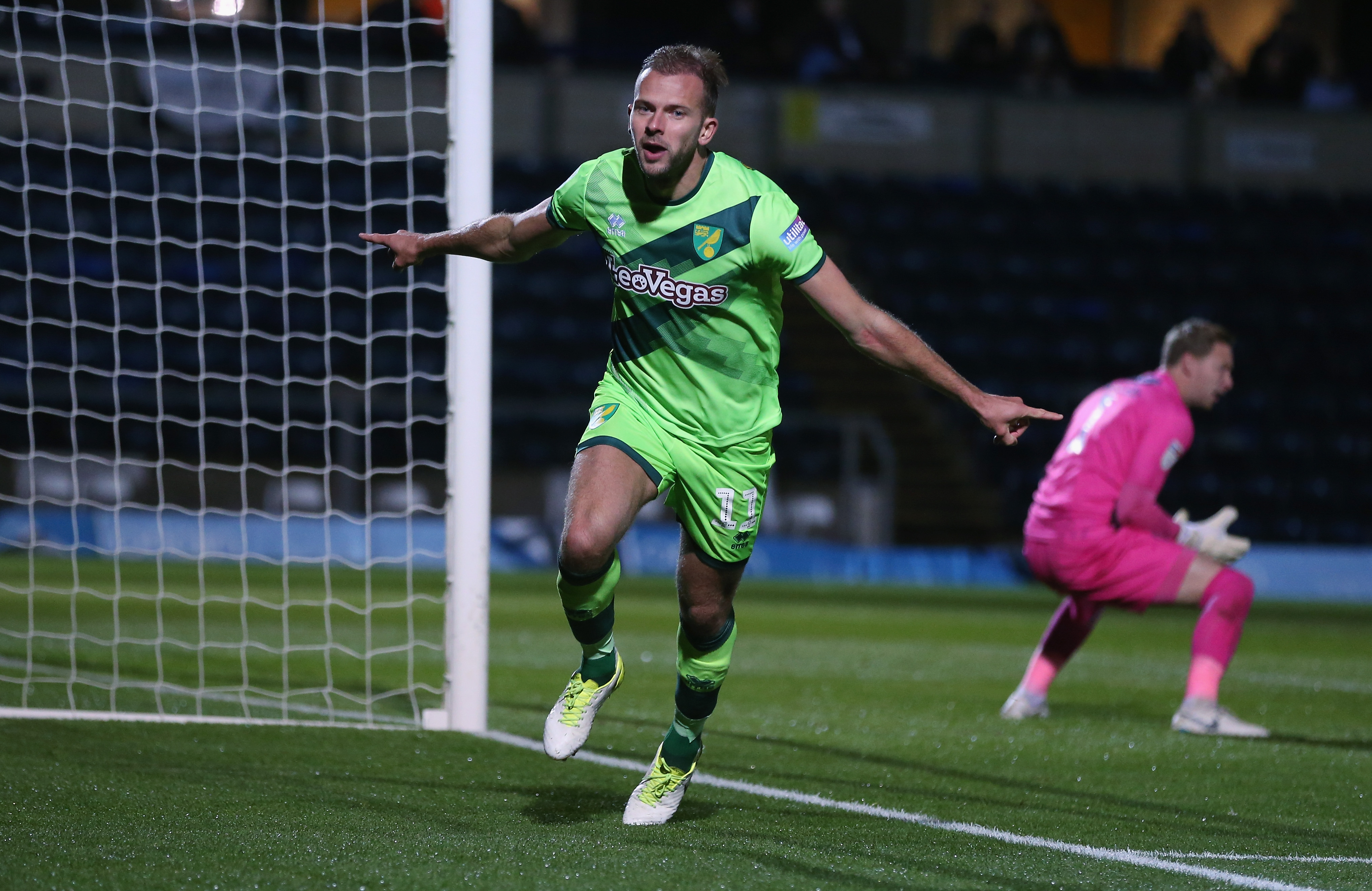 Jordan Rhodes Norwich City vs Wycombe Wanderers