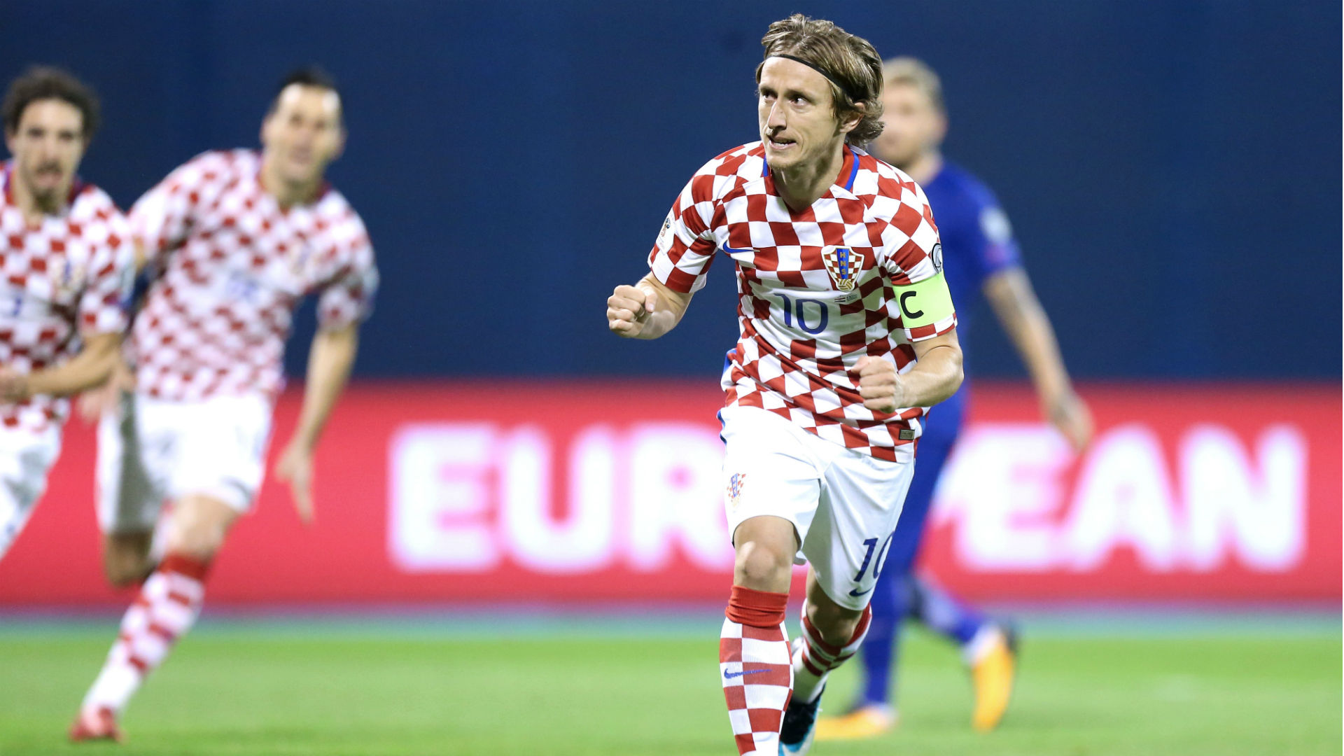 Croatia Greece WC Qualification 09112017 Luka Modric
