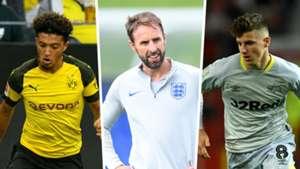 Jadon Sancho, Gareth Southgate, Mason Mount