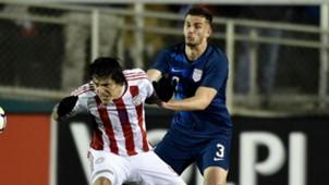 Matt Miazga USA Paraguay 2018