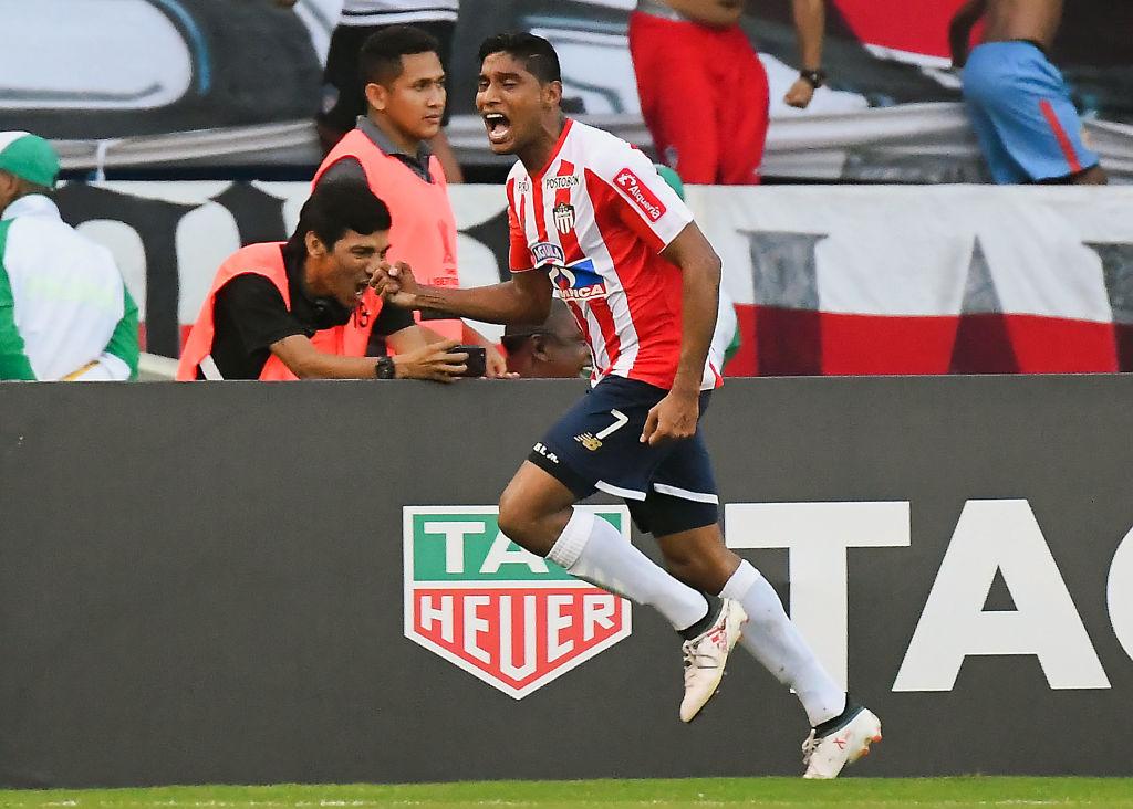 Luis Carlos Ruiz Junior vs Boca Copa Libetadores