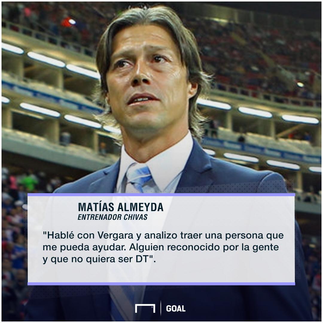 Matías Almeyda declaración director deportivo 070218