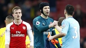 Petr Cech Arsenal Watford