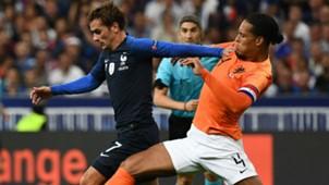 Antoine Griezmann Virgil Van Dijk France Netherlands Nations League 09092018