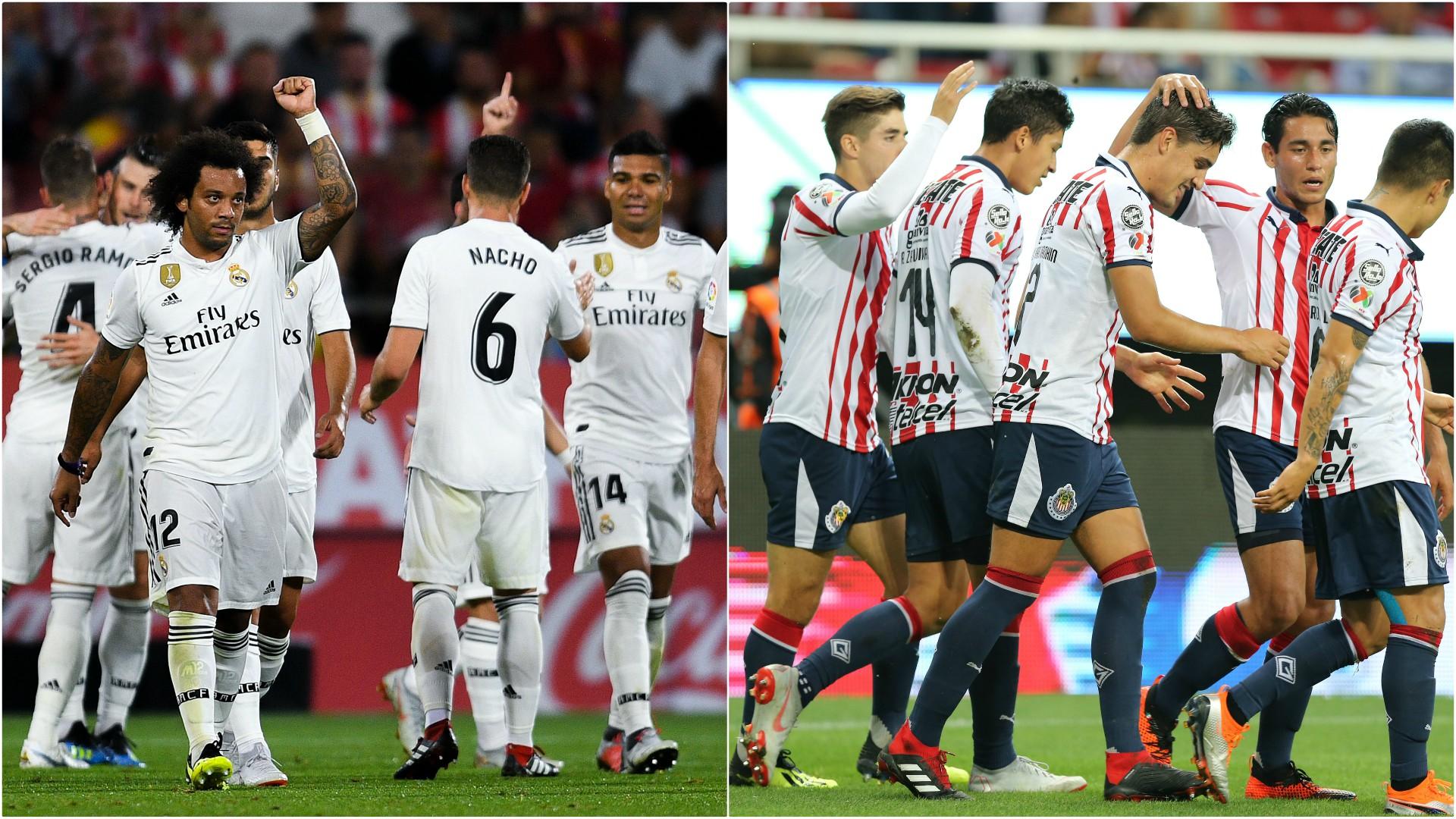 Resultado de imagen para Chivas vs real madrid