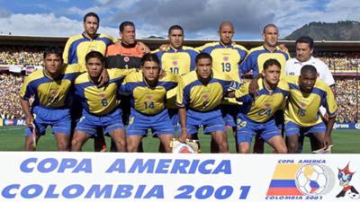 Colombia Copa America 2001