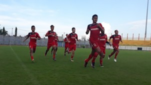 Latihan Fisik Madura United
