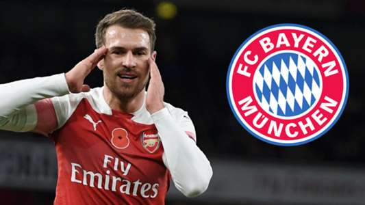 Aaron Ramsey Arsenal Bayern Munich GFX
