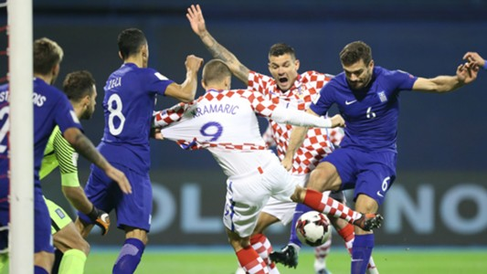 Croatia Grecce WC Qualification 09112017 Kramaric Lovren