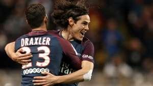 Edinson Cavani Julian Draxler Monaco PSG Ligue 1 26112017