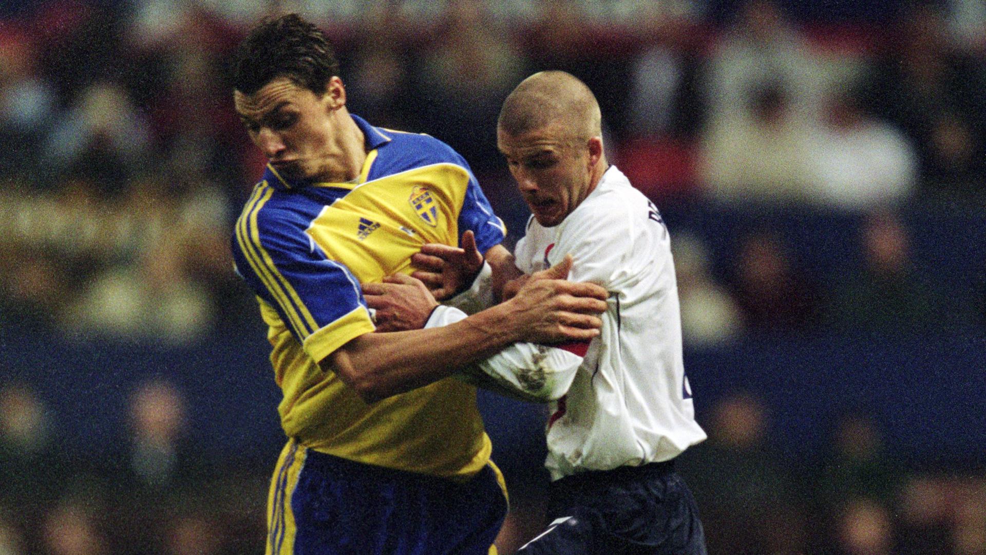 Ibrahimovic startet kuriosen Wettstreit mit David Beckham
