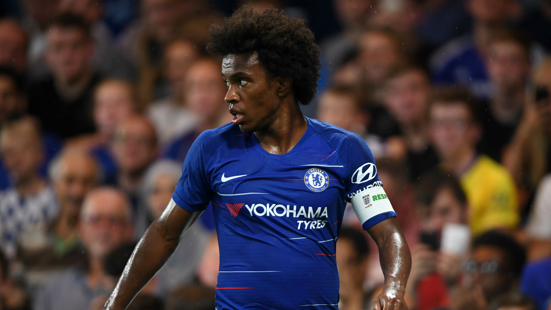 Willian Chelsea Lyon ICC 2018