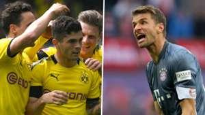 Dortmund Bayern Christian Pulisic Thomas Muller