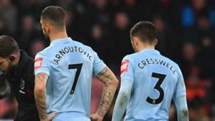 Marko Arnautovic Bournemouth West Ham Premier League