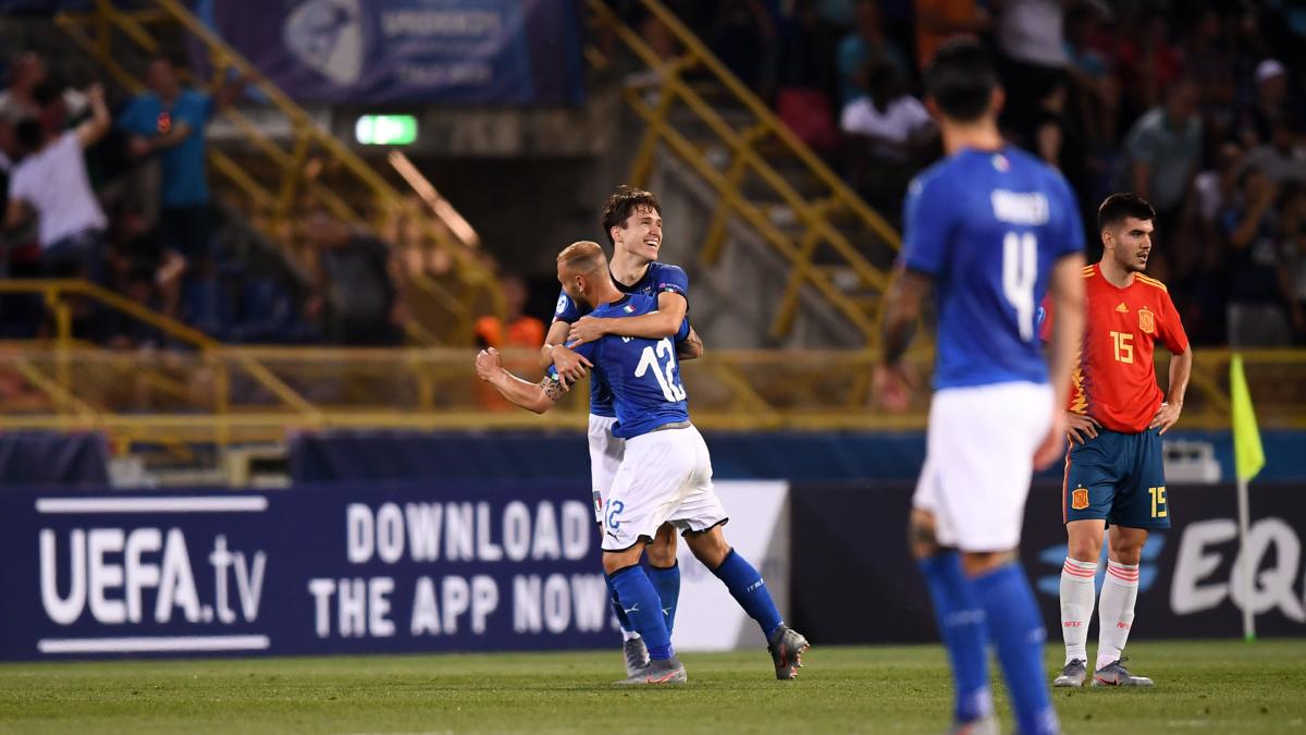 Italy Spain U21 Olazsország Spanyolország