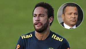 Neymar + father composite