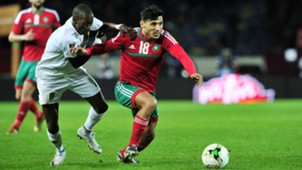 Abdelilah Hafidi Morocco Mohamed Wade Mauritania 2018 CHAN