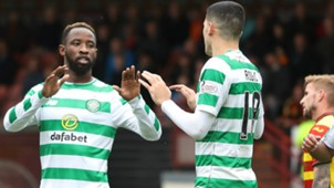 Moussa Dembele  - Partick Thistle v Celtic - Betfred Scottish League Cup