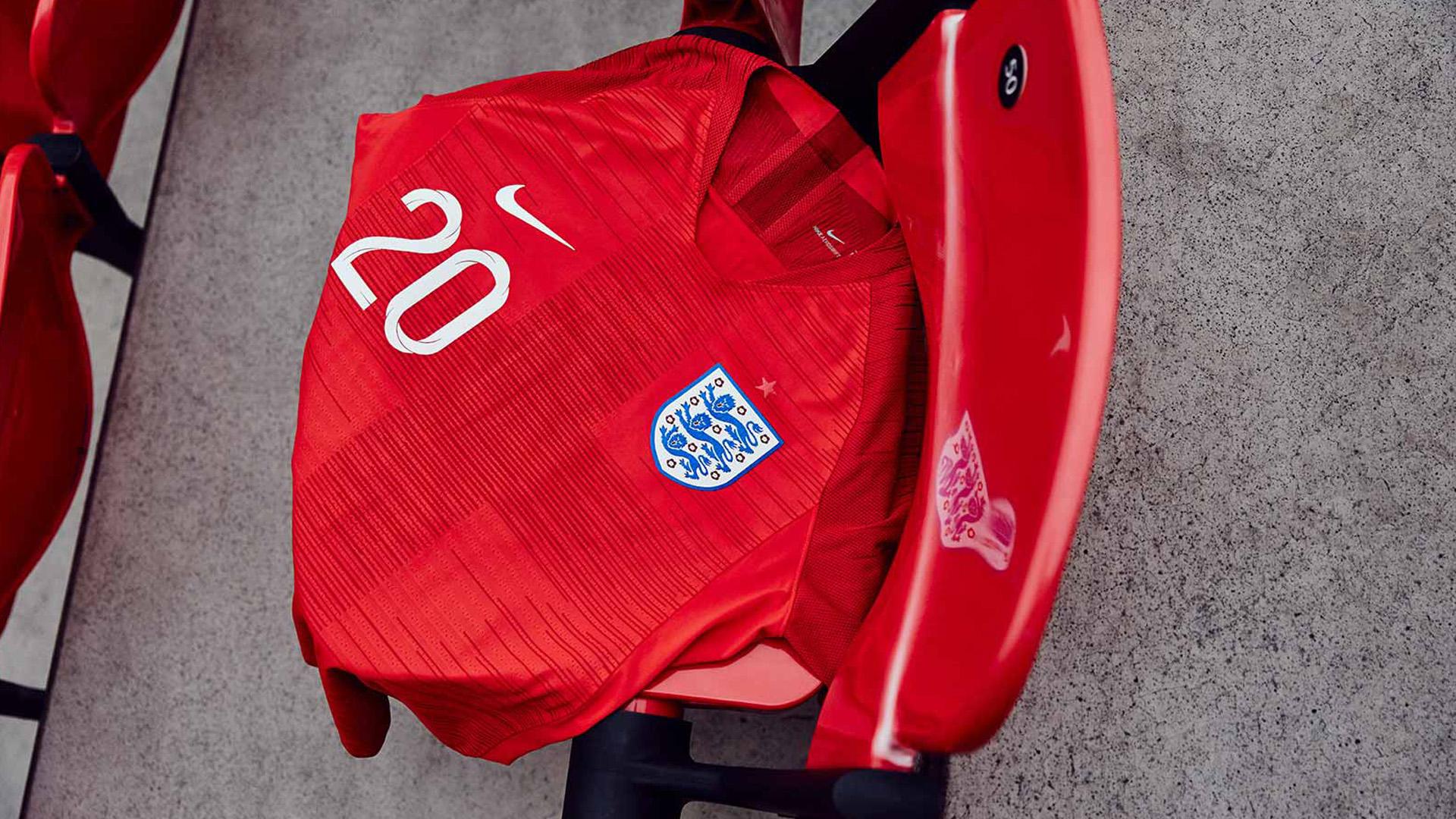 Inglaterra Camiseta Alternativa England Away Kit 2018