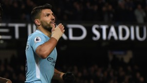 Aguero Manchester City Leicester Premier League 02102018