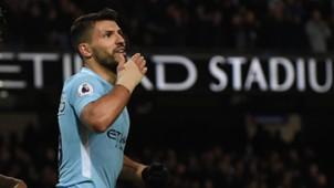 Aguero Manchester City Leicester Premier League 02102018