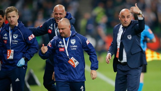 Melbourne Victory coaching staff