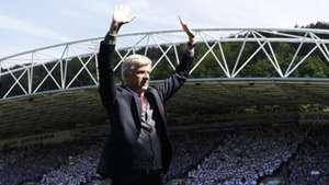 Arsene Wenger Huddersfield Arsenal Premier League 13052018