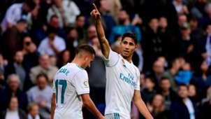 Achraf Hakimi Real Madrid Sevilla LaLiga 09122017