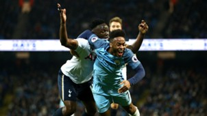 Raheem Sterling Premier League Manchester City v Tottenham