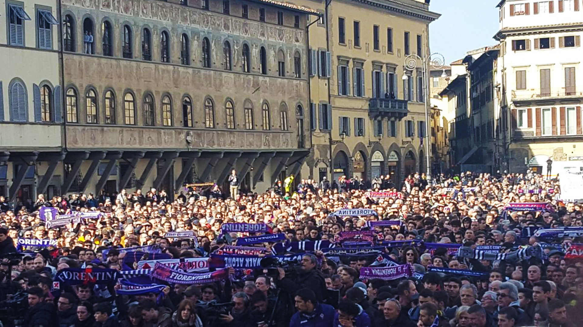 Thousands Of Fiorentina Fans Pay Their Respects At Funeral Of Davide Astori