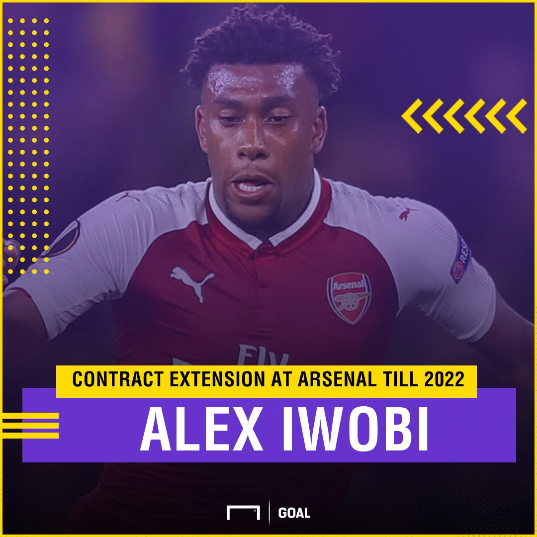 Alex Iwobi PS