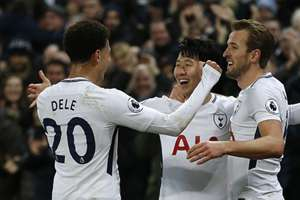 Son Heung-min Harry Kane