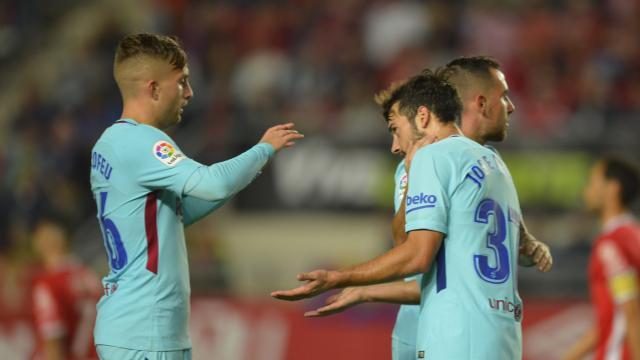 Deulofeu Murcia Barcelona Copa del Rey