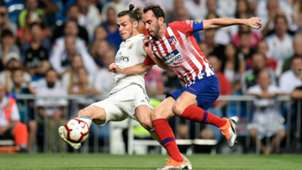 GARETH BALE REAL MADRID DIEGO GODIN ATLETICO MADRID