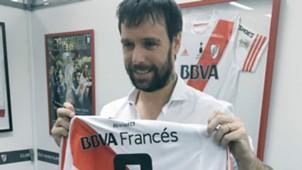 Fernando Cavenaghi camiseta River especial despedida 03052017