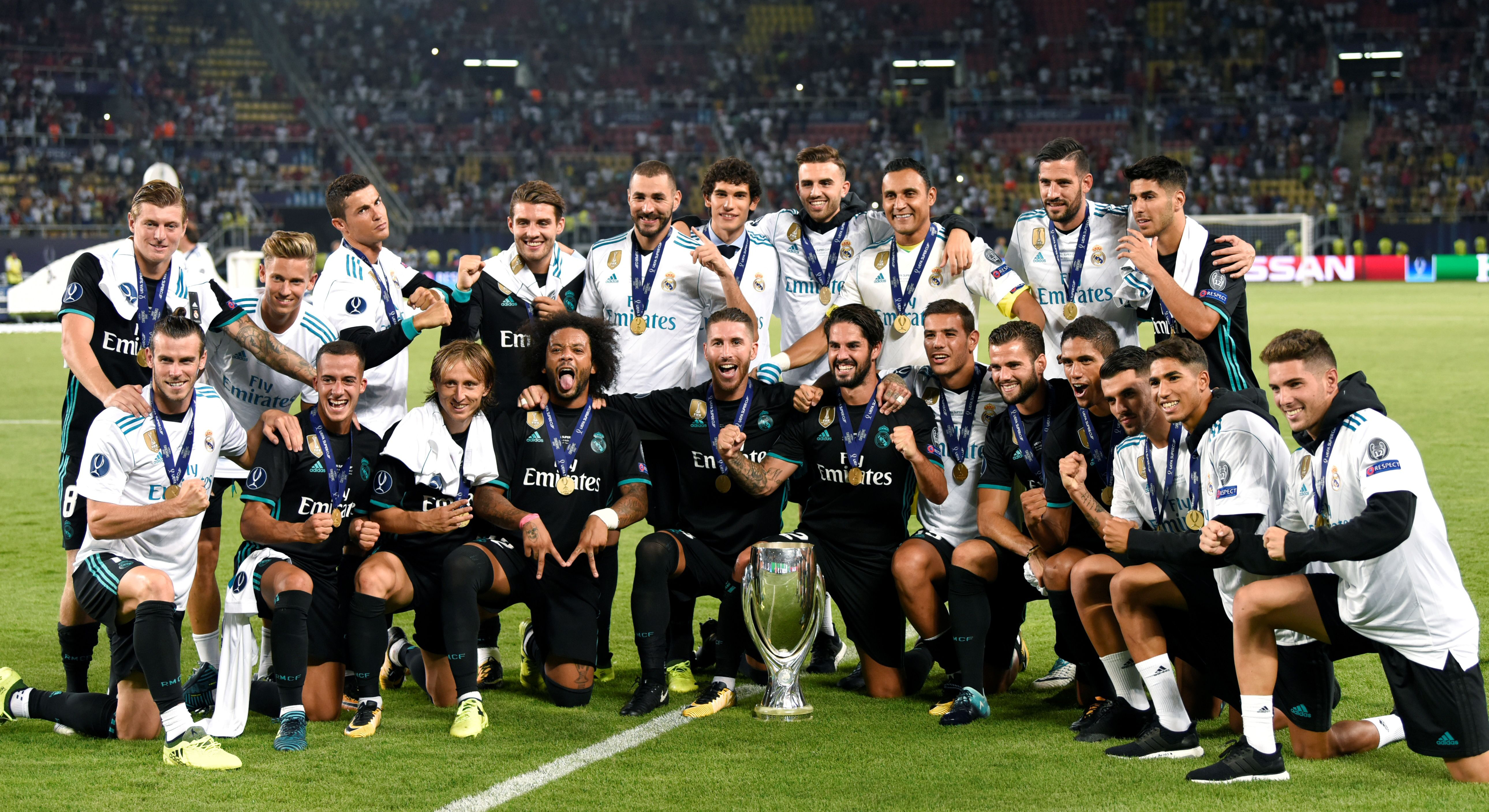 Real Madrid UEFA Super Cup