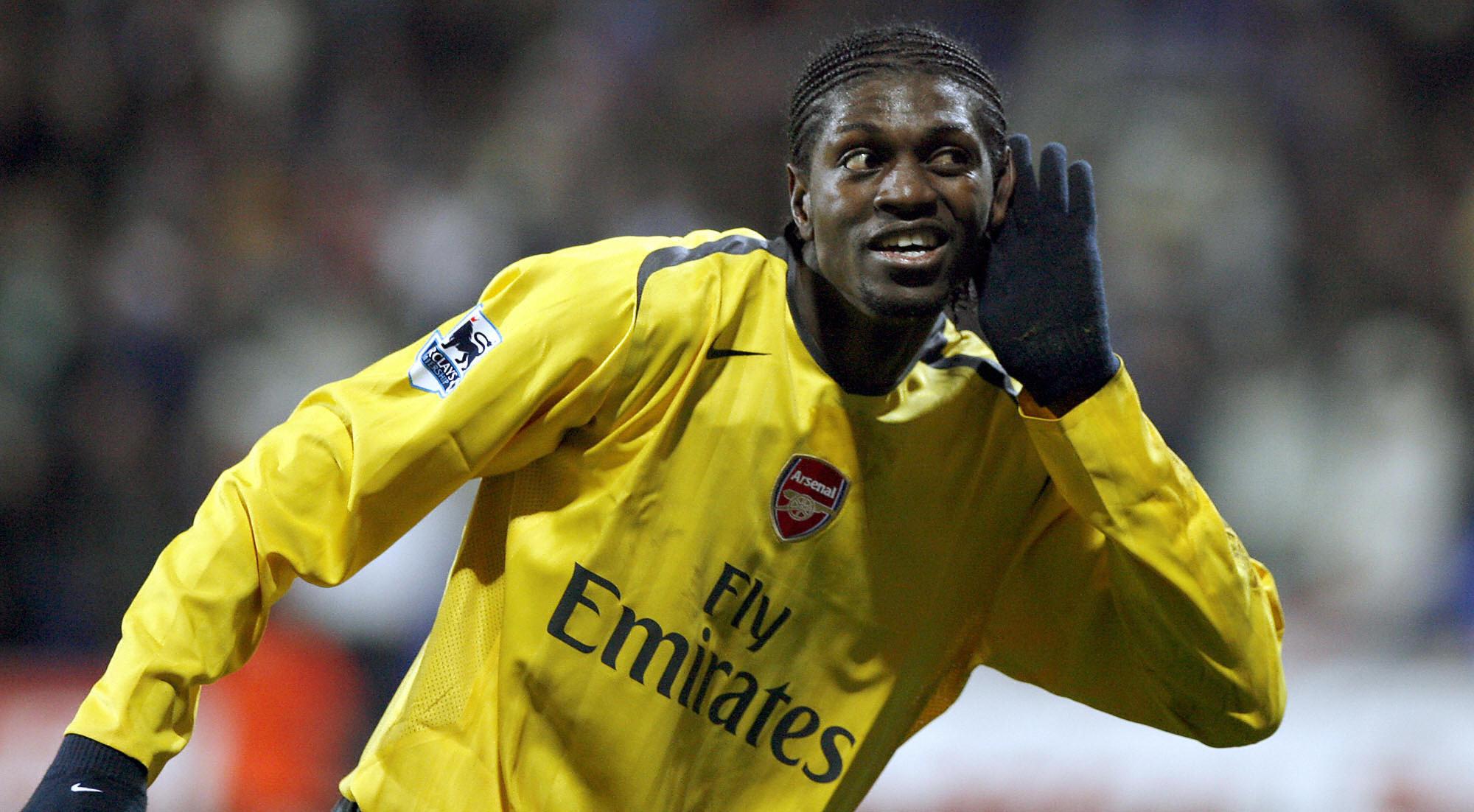Adebayor Arsenal