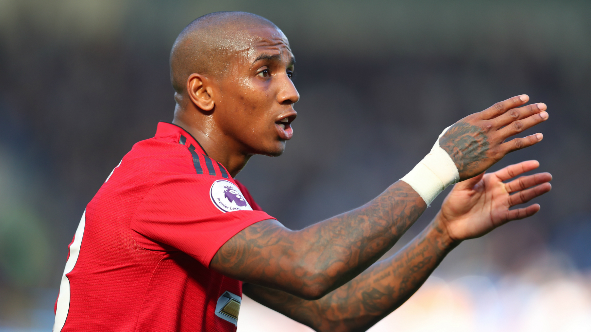 Ashley Young Chelsea Manchester United