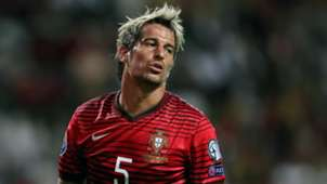 Fabio Coentrao Portugal Euro Qualifier
